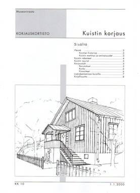 Museoviraston korjauskortisto - Kirjallisuus - 949-061-10 - 3