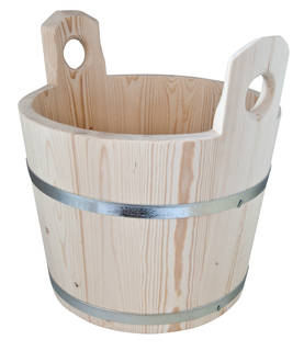 Wooden tub - Wood items and brushes - 949-037-20 - 1