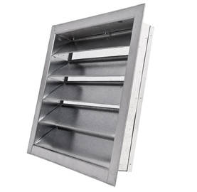 Ventilation grille, 40 x 40 cm - Vents for exterior walls - 719-015-400 - 1