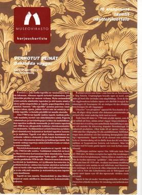 Museoviraston korjauskortisto - Kirjallisuus - 949-061-20 - 3