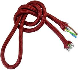 Textile cable, smooth - Smooth power cables for lamps - 503-002-1