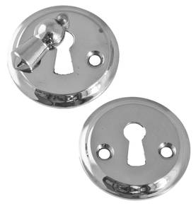 Button cover plate, with a flap. - Key, lock and cover plates - 118-014-11 - 1