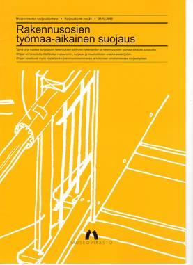 Museoviraston korjauskortisto - Kirjallisuus - 949-061-21 - 3