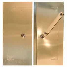 Outer Lock for Stove Doors, straight - Spare parts for stove doors - 718-025-1 - 2