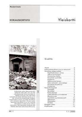 Museoviraston korjauskortisto - Kirjallisuus - 949-061-1 - 1
