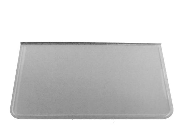 Stove Floor Guard, 70 x 40 cm - Floor plates, zinc-plated - 701-001-1 - 1