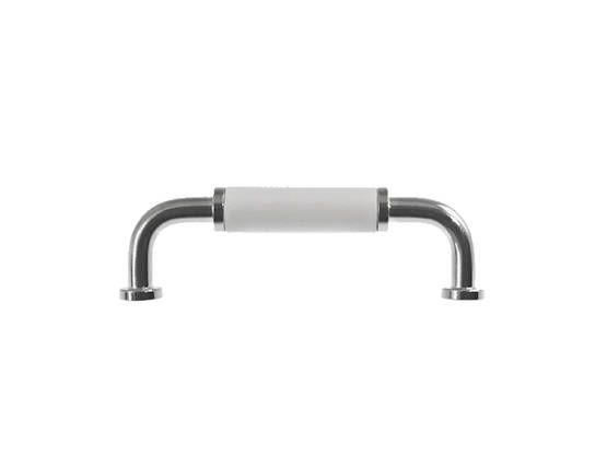 Pull, wooden grip - Nickel-plated pulls - 102-029-41 - 1