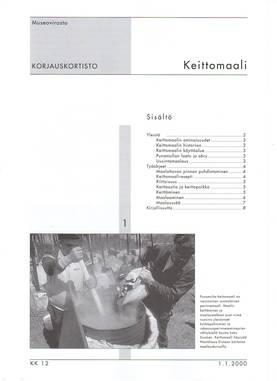 Museoviraston korjauskortisto - Kirjallisuus - 949-061-12 - 3
