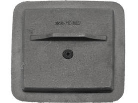 Valurauta, 20 x 20 cm - Soot trap doors, cast iron - 702-006-2 - 1