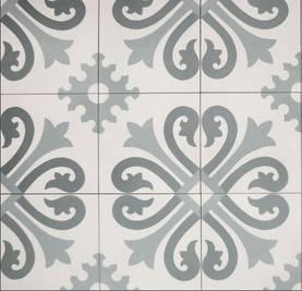 Ranskalainen, sini-harmaa - Model tiles - 617-010-202 - 1