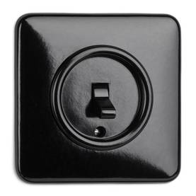 Change-Over Switch - Electrical fixtures, black - 516-126-12 - 1