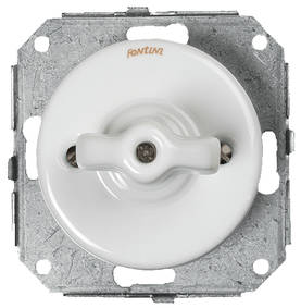 Alternator switch (Without faceplate) - Electrical accessories, white - 516-040-2 - 1