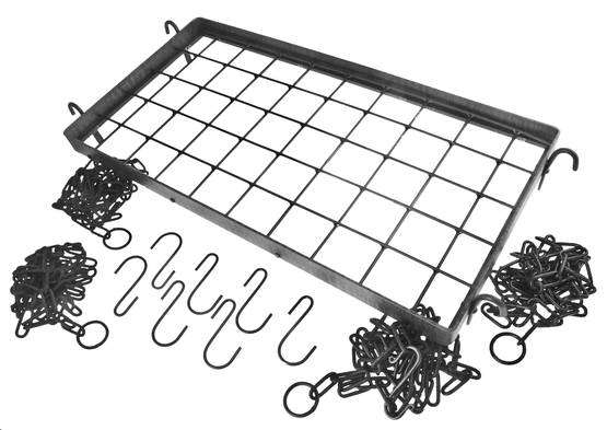 Pot and pan rack, forged - Other hooks, brackets and supports - 119-084-2 - 1