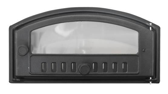 Baking Oven Doors, with a window - Cast iron doors - 714-019-2 - 1