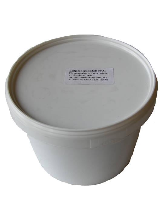 Pannkitt - Behandlingsmedel för eldstäder - 719-009-2 - 2