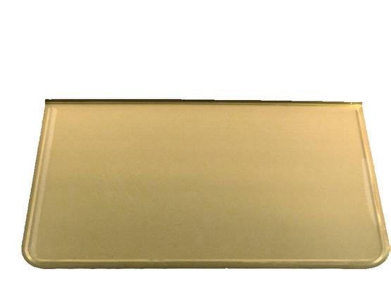 Stove Floor Guard, brass - Floor plates, brass - 701-001-2 - 1