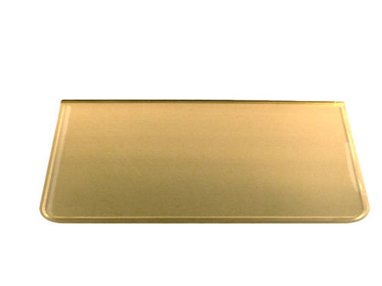 Stove floor guard, brass. - Floor plates, brass - 701-002-2 - 1