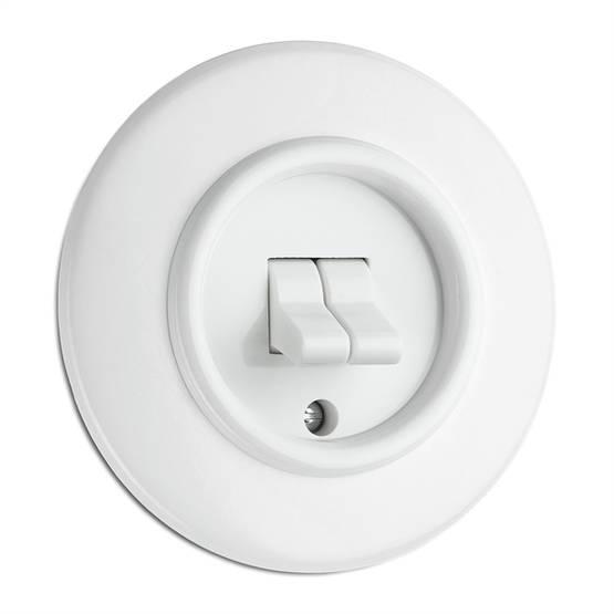 Pyöreä - Electrical fixtures, white - 516-125-22 - 1