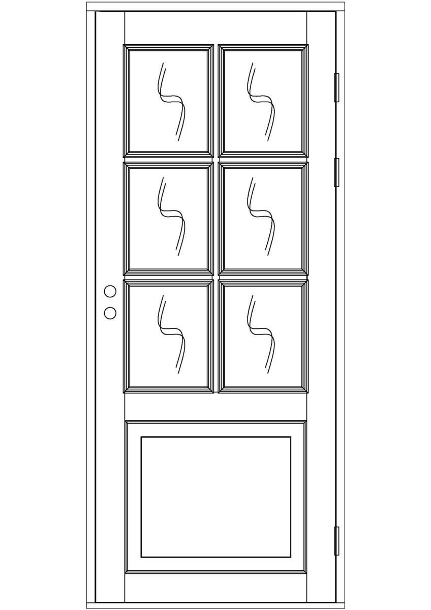 ulko ovi ikkunallinen kaksipeilinen moniruutuinen