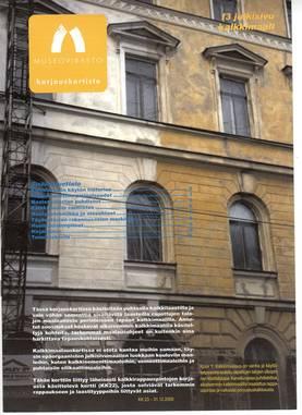 Museoviraston korjauskortisto - Kirjallisuus - 949-061-23 - 3