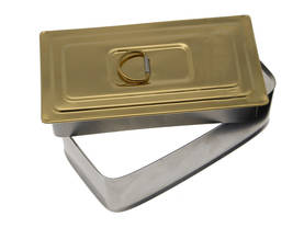 Messinki, 15 x 7,5 cm - Soot trap doors, brass - 702-002-3 - 1