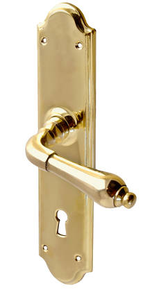 Door handle Eliza - Brass door handles - 101-004-3 - 1