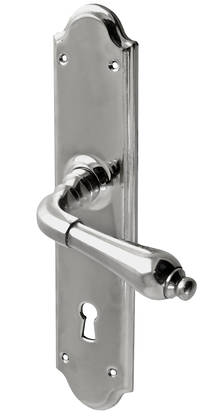 Door handle Eliza - Nickel-plated door handles - 101-005-3