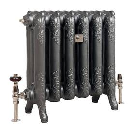 "Cast Iron Radiator ""Queen"", height 61 cm - ""Queen"" model - 935-047-3 - 1"
