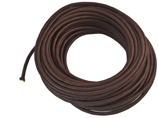 Textile cable, smooth - Smooth power cables for lamps - 503-002-3 - 2