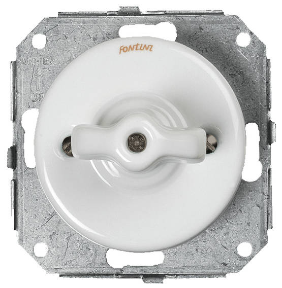 5 position switch (Without faceplate) - Electrical accessories, white - 516-040-3 - 1