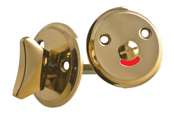 Bathroom lock plate - Key, lock and cover plates - 118-010-3 - 1