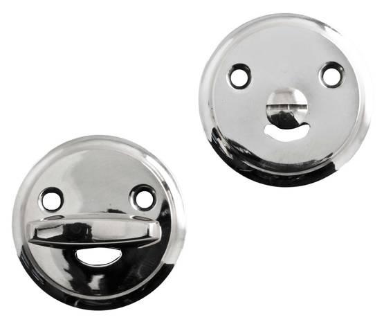 Bathroom lock plate - Key, lock and cover plates - 118-016-3 - 1