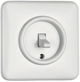 Change-Over Switch - Electrical fixtures, white - 516-125-12 - 1
