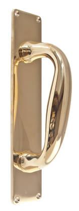 Classic door pull Isabella - Brass door pulls - 102-010-4