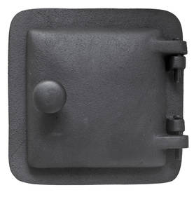 Soot trap, without ornamentation - Soot collection doors, cast iron - 702-007-5 - 1