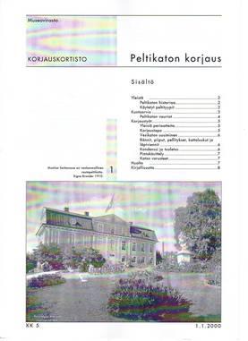 Museoviraston korjauskortisto - Kirjallisuus - 949-061-5 - 3