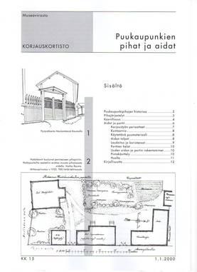 Museoviraston korjauskortisto - Kirjallisuus - 949-061-15 - 3