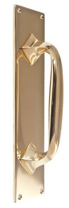 Classic door pull Gunilla - Brass door pulls - 102-010-5 - 1