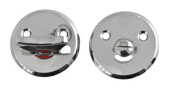 Bathroom lock plate - Key, lock and cover plates - 118-016-5 - 3
