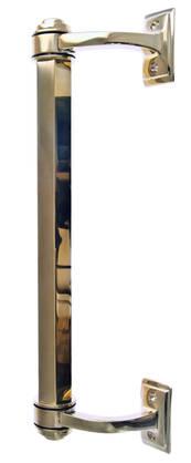 Classic door pull Fredrika - Brass door pulls - 102-010-6