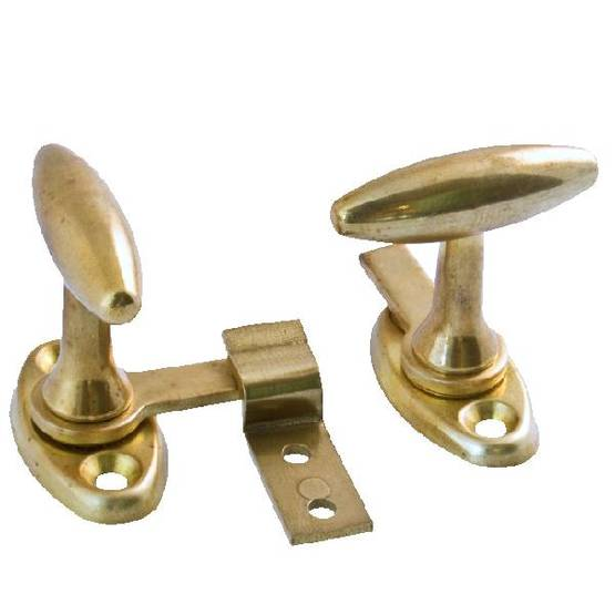 Window fastener Lisa, two fasteners - Latches for inner windows - 202-004-6 - 1