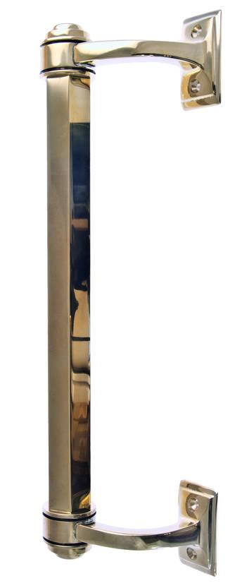 Classic door pull Fredrika - Brass door pulls - 102-010-6 - 1