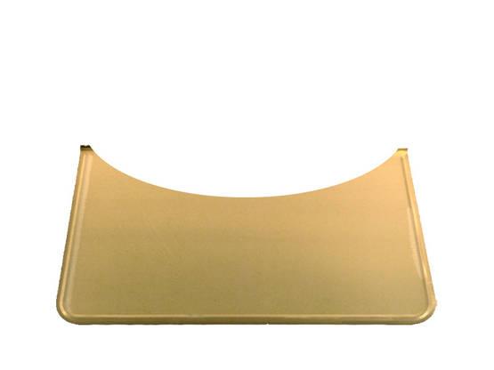 Rounded Floor Guard, brass - Floor plates, brass - 701-006-6 - 1