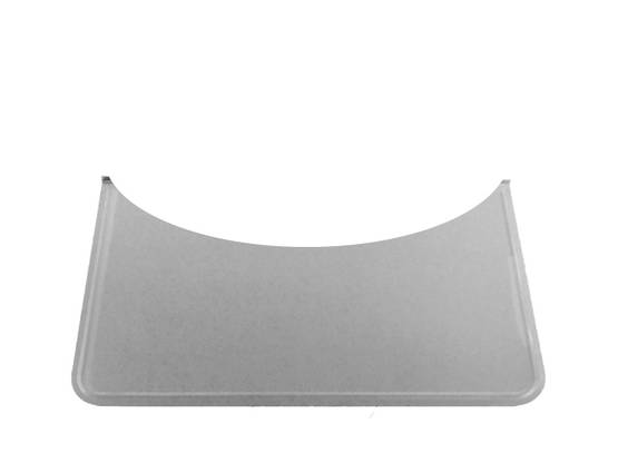 Rounded Floor Guard, galvanized - Floor plates, zinc-plated - 701-004-6 - 1