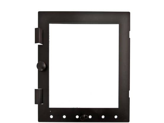 Glass Inner Door for Stoves - Spare parts for fireplace doors - 718-007-6 - 1