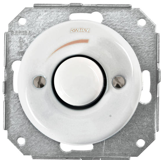 Alternator switch, dimmer, without faceplate. - Multiple device installations - 516-040-6 - 1