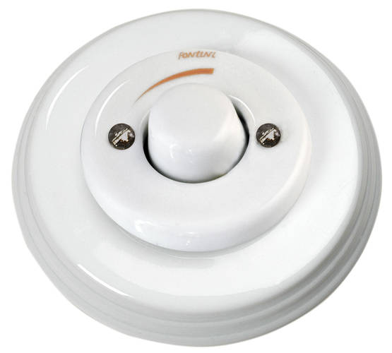 Alternator switch with dimmer - Electrical accessories, white - 516-025-6 - 1