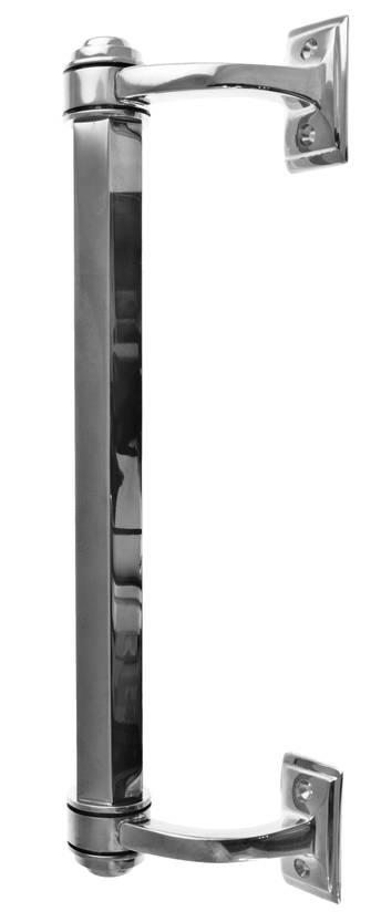 Classic door pull Fredrika - Nickel-plated pulls - 102-010-66 - 1