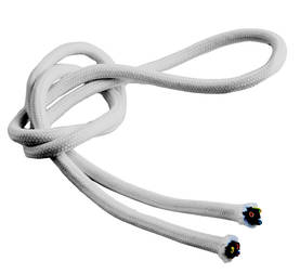 Textile cable, smooth - Smooth power cables for lamps - 503-002-7 - 3