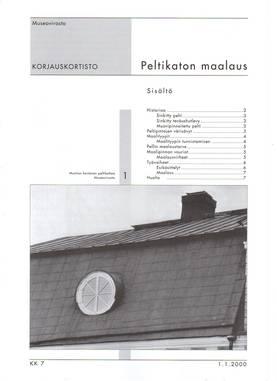 Museoviraston korjauskortisto - Kirjallisuus - 949-061-7 - 3